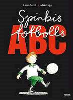 Omslagsbild till Spinkis fotbolls-ABC.