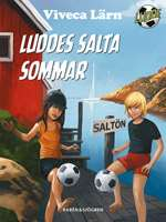 Omslagsbild till Luddes salta sommar.