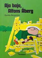 Omslagsbild till Aja baja, Alfons Åberg.