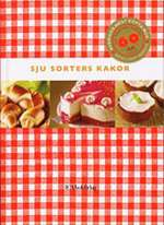 Omslagsbild till boken Sju sorters kakor.