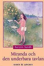 Omslagsbild till Miranda och den underbara tavlan.