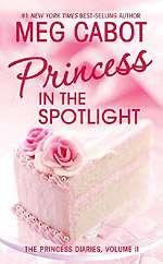 Omslagsbild till Princess in the spotlight.