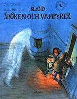 Omslagsbild till Bland spöken och vampyrer.
