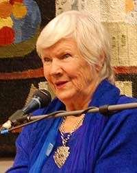 Författaren Birgitta Stenberg. Bildkälla: Wikimedia Commons.