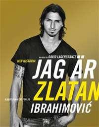 Omslagsbild till Jag är Zlatan.