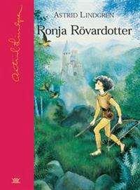 Omslagsbild till boken Ronja Rövardotter.