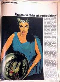 Uppslag i Veckojournalen nr 45 1967.