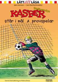 Omslagsbild till Kasper i mål