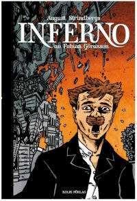 Omslagsbild till Strindbergs inferno av Fabian Göransson.