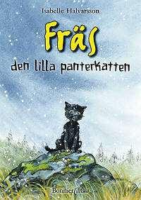 Omslagsbild till Fräs den lilla panterkatten.
