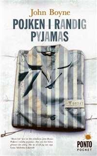 Omslagsbild till Pojken i randig pyjamas.