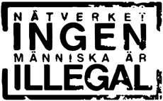 Logotype för nätverket Ingen Människa Är Illegal.