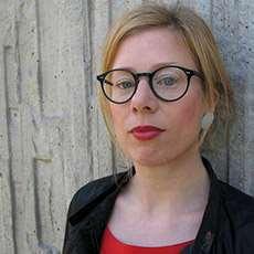 Författaren Charlotta Lannebo. Foto: Maina Arvas