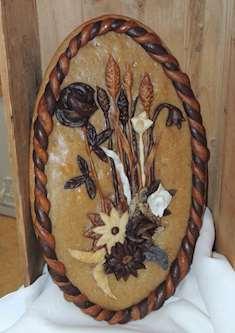 Bröd med dekorationer