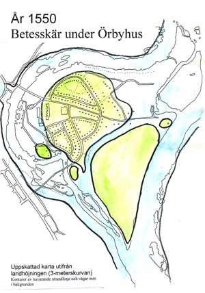 Karta över Rotskär