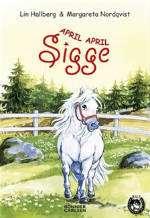 Omslagsbild till April, april Sigge.
