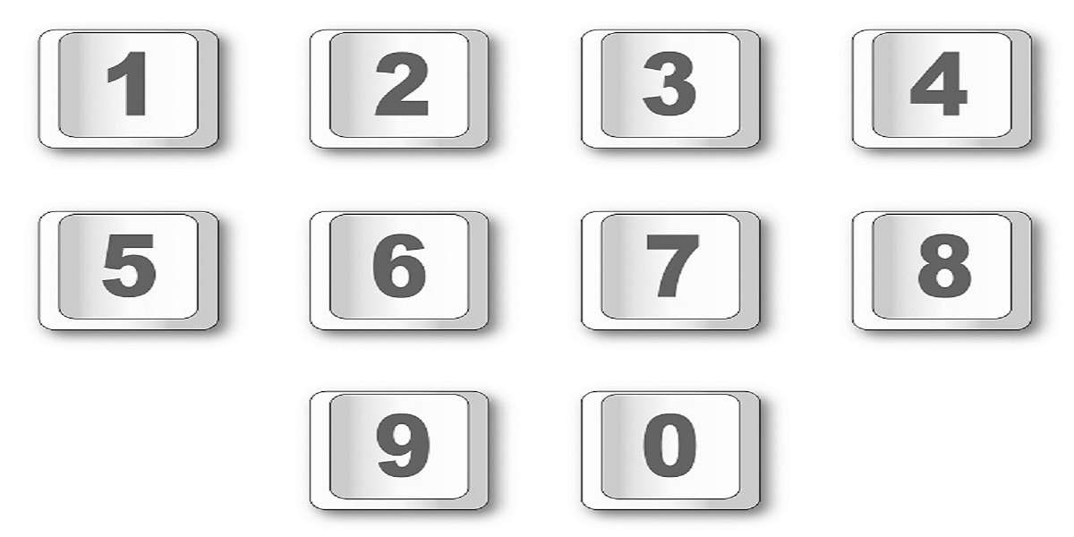 Siffror i fyrkanter