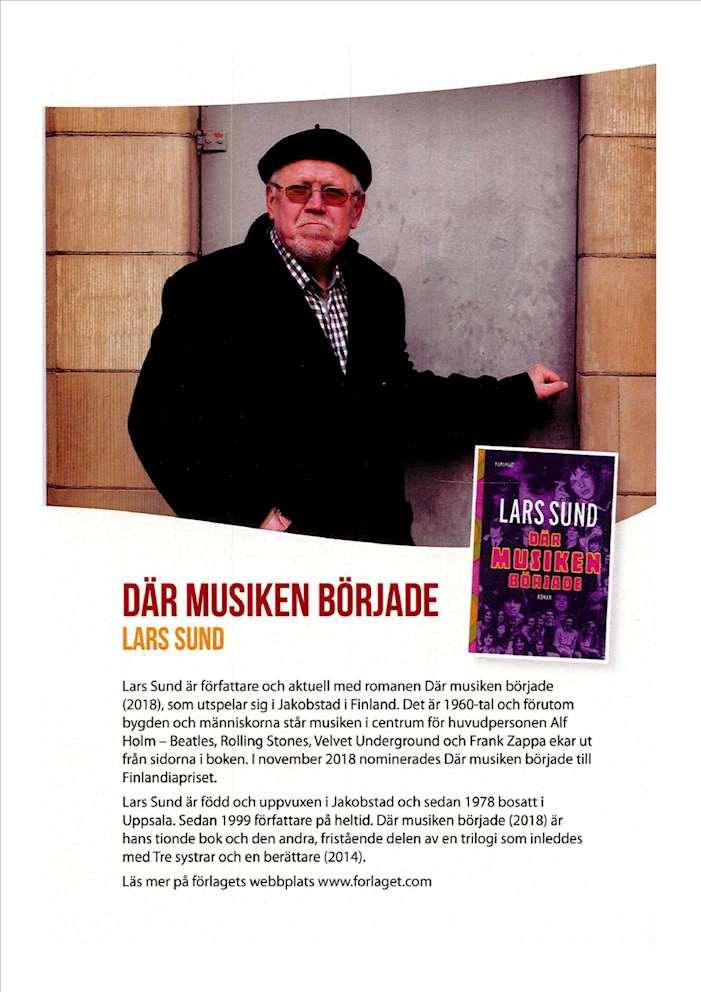 Lars Sund Litteraturkarusell 2019